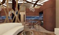 Вперед в будущее дизайн-проект 3-х комнатной квартиры в Ж/К Символ, г. Москва