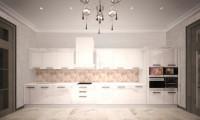 Кухня в коттедже п.Стольное
