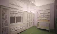 Детская комната в коттедже п.Стольное