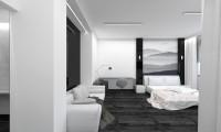 Черное-белое. Дизайн-проект квартиры-студии в стиле минимализм. Лаконичные решения, дорогие материалы и минимальная стоимость проектирования.