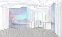Эскизы интерьеров квартиры в г.Химки