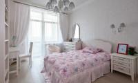 Спальня в квартире ж/к Доминион
