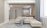 Рациональный подход. Дизайн проект 3-х комнатной квартиры в современном стиле на ул. Парковая