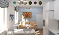 Португалия рядом. Разработка дизайн-проекта квартиры в средиземноморском стиле.