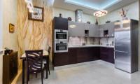 Кухня в квартире на ул. Пудовкина