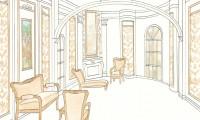 Эскизы интерьеров в классическом стиле