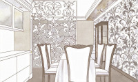 Эскизы кухни в классическом стиле