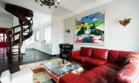 Дизайн-проект квартиры в стиле Соц-арт.