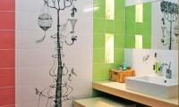 Ванная в квартире на ул. Гризодубовой