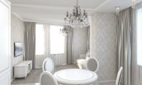 Дизайн проект гостиной в квартире на ул. Чистопольская