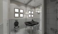 Ванная в квартире в ж/к Розмарин