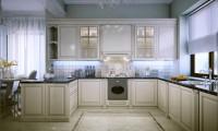 Кухня в квартире в ж/к Алые паруса