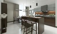 Кухня в квартире на Ломоносовском проспекте