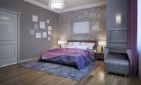 Спальня в квартире Ж/к Белый лебедь