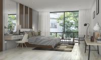 Спальня в квартире на ул. Пудовкина