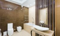 Дизайн и ремонт ванной комнаты в квартире на ул. Гарибальди