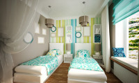 Детская комната в квартире в ж/к Доминион