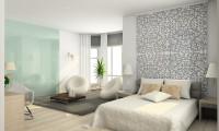 Спальня в квартире на ул. Народного ополчения