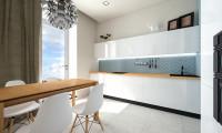 Кухня в квартире в стиле минимализм