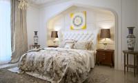 Спальня с элементами восточного стиля