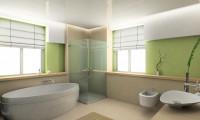 Ванная в двухуровневой квартире на ул.Пырьева