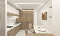 Кухня в квартире на Смоленском бульваре