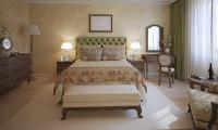 Спальня в квартире на ул. Авиационная