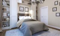 Спальня в квартире в ж/к Рублево