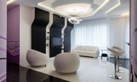 Шаг в будущее. Дизайн-проект  квартиры в ж/к Литератор 150м2