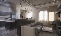 Дизайн с Акцентом. Проект квартиры в современном стиле. ЖК Ломоносовский.