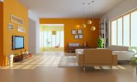 Апельсиновое настроение. Двухуровневая квартира на ул. Пырьева.