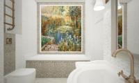 Ванная в квартире на проспекте Вернадского