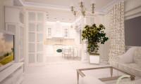 Дворянское гнездо. Разработка дизайн-проекта  квартиры на пр-те Вернадского.