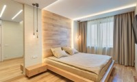Натуральный минимализм. Дизайн проект квартиры в современном стиле на Смоленском б-ре.
