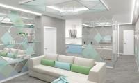 Грани реальности. Дизайн проект квартиры в современном стиле 100 м2