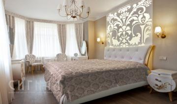 """Спальня в квартире ж/к """"Доминион"""""""