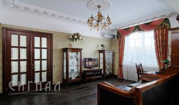 Гостиная в квартире на ул. Алабяна