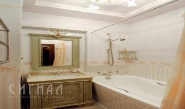 Ванная в квартире на ул. Алабяна
