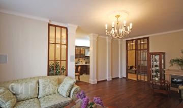 Гостиная в квартире на Мичуринский пр-те
