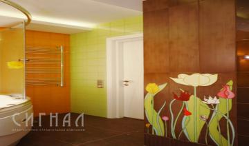 Ванная в квартире на ул.Никитинская