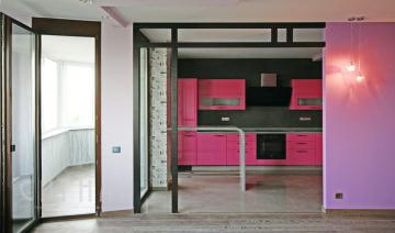 Кухня в квартире на ул.Никитская