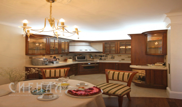 Кухня в квартире на Мичуринском проспекте