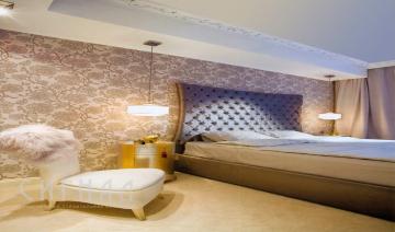 Спальня в квартире на Арбате.