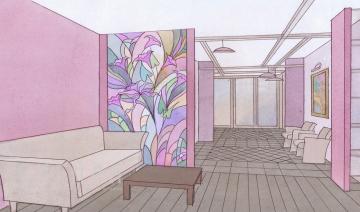 Эскизы квартиры на ул. Никитинская