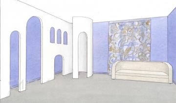 Эскизы интерьеров детских комнат