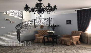 Дизайн-проект  загородного дома в поселке Ступино