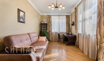 Кабинет в квартире на ул. Пудовкина
