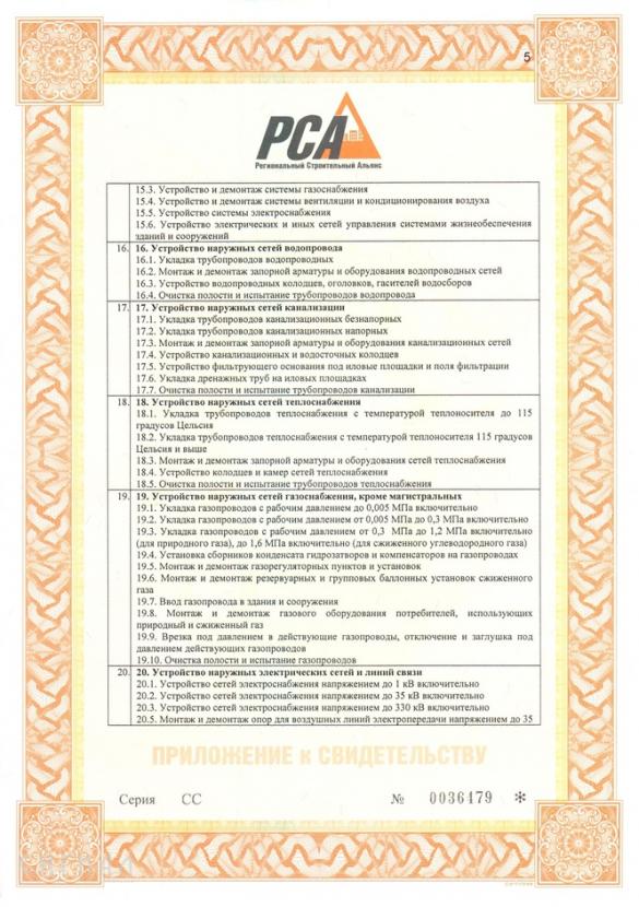 Лицензии и допуски